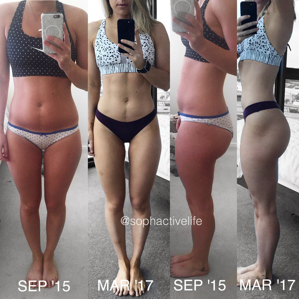 fat loss transformation photo