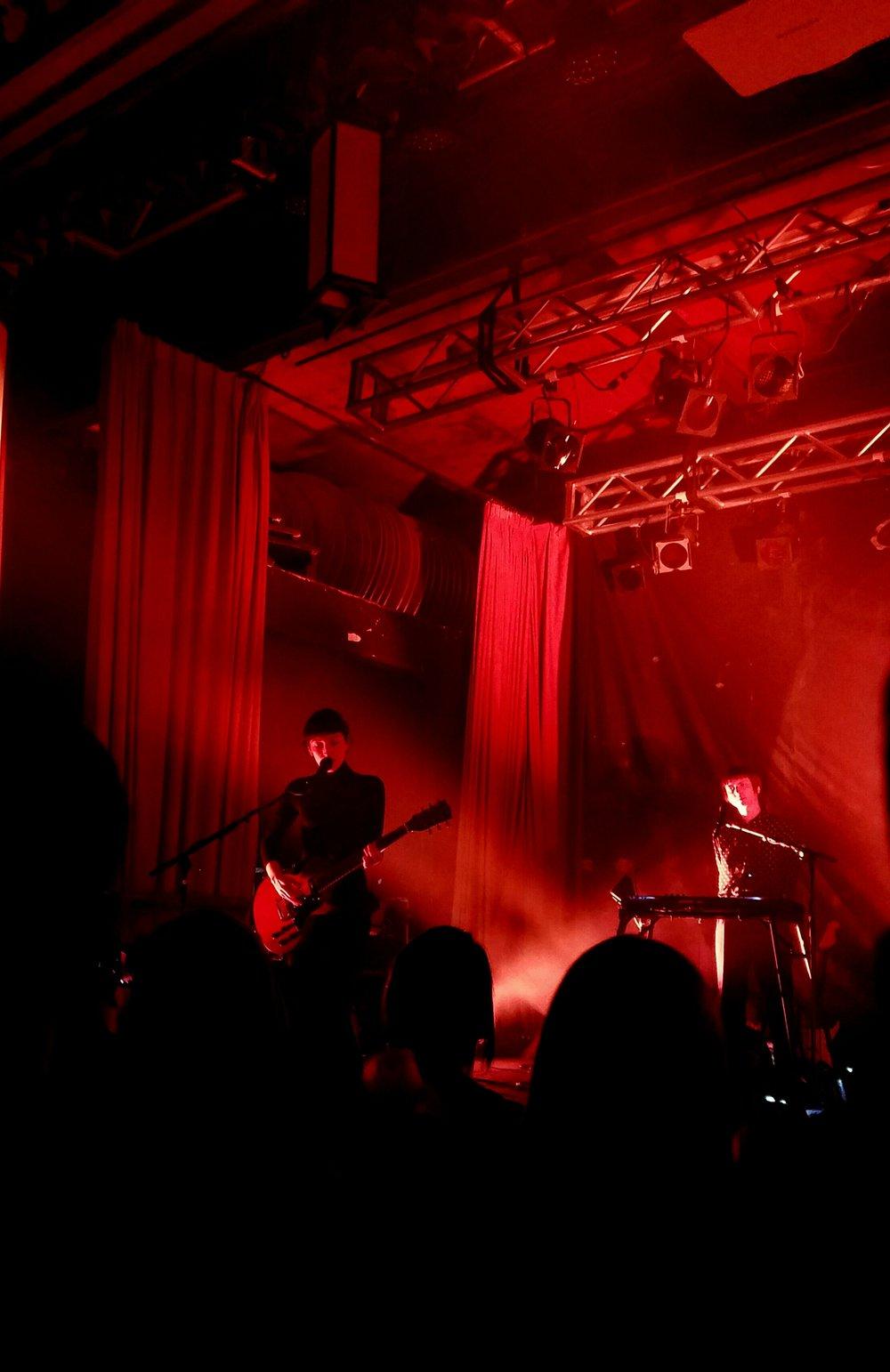 Elena Tonra, Luke Saunders; Beachland Ballroom, Cleveland; 15/11/16