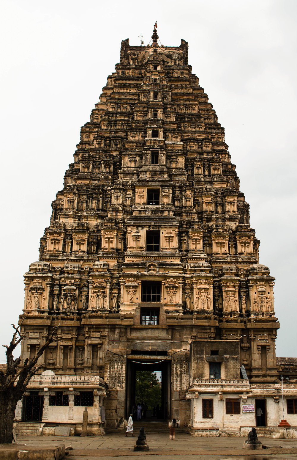 Virupaksha Temple, built in honor of the king's victory
