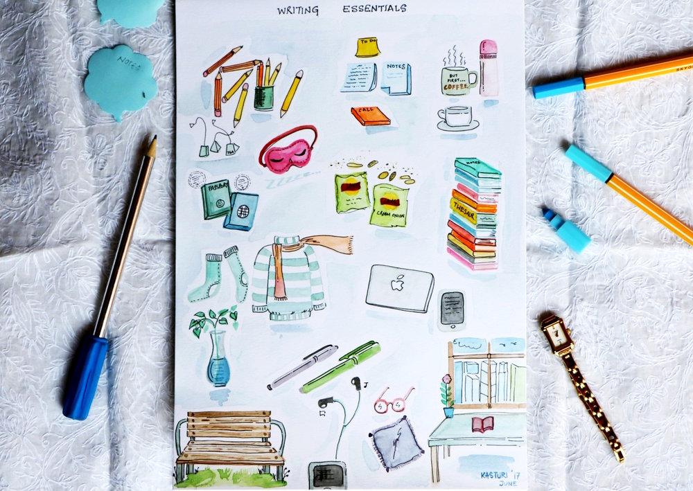 Writing essentials , by Kasturi Roy for TLJ