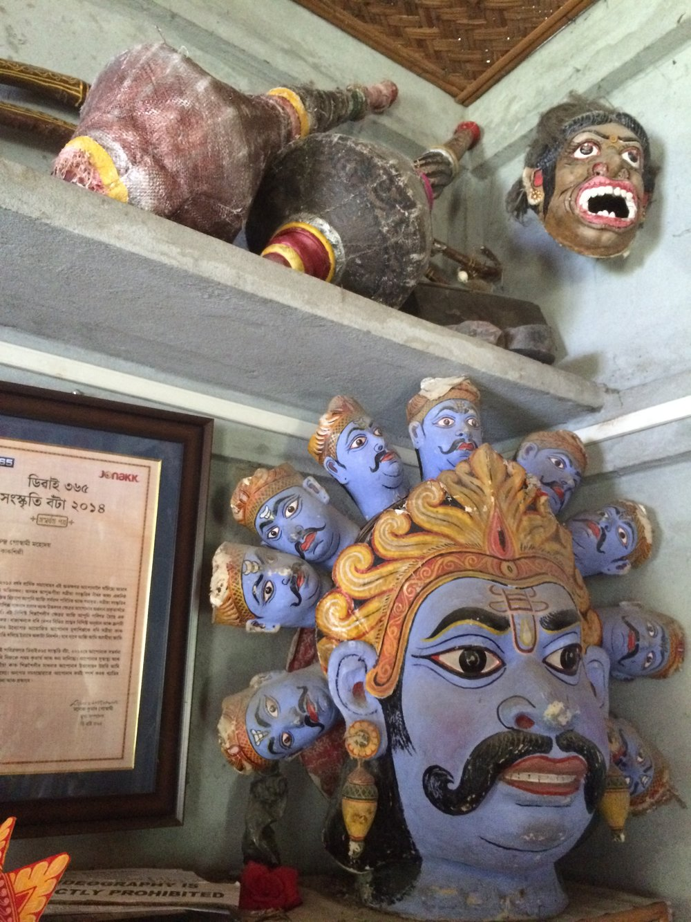 The Handcrafted Masks of Majuli - Cover storyIn this river island in Assam, prayer meets art in an earnest embrace.