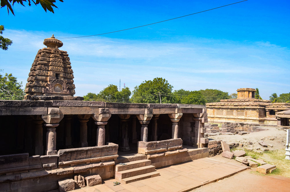 Aihole, November 2017 The pillars held strongly the ageless wonder.