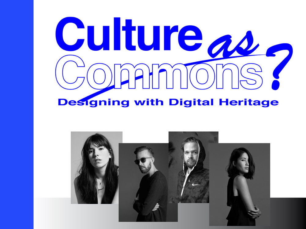 EVENT - Culture as Commons