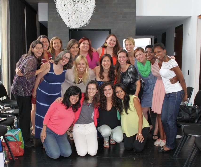 Jessica Scheer at Nathalie Lussier's Daring Business Cultivator Mastermind Retreat