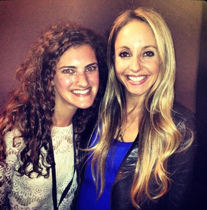 Jessica Scheer and Gabby Bernstein at RHHLive