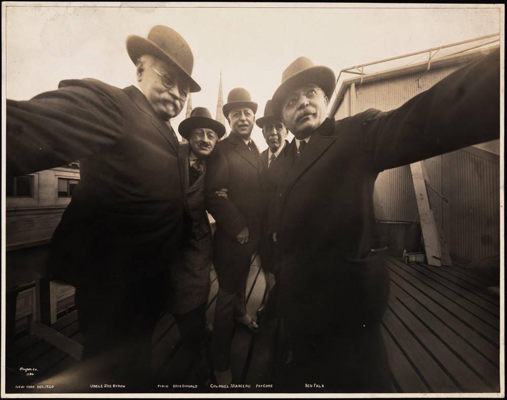 One of the Earliest Selfies