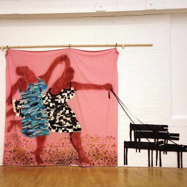 Thanks @mao_gallery for your brilliant talks on the work by Lubaina Himid today! Inspirational discussions and a stunning exhibition. We had a great time! #LubainaHimid #modernartoxford #blackartsmovement #exhibition #contemporaryart