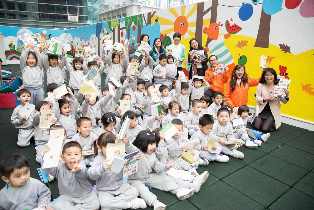 Mar 2015 / Sino Art & Cheerland Kindergarten 信和藝術 & 香港小童群益會樂緻幼兒園