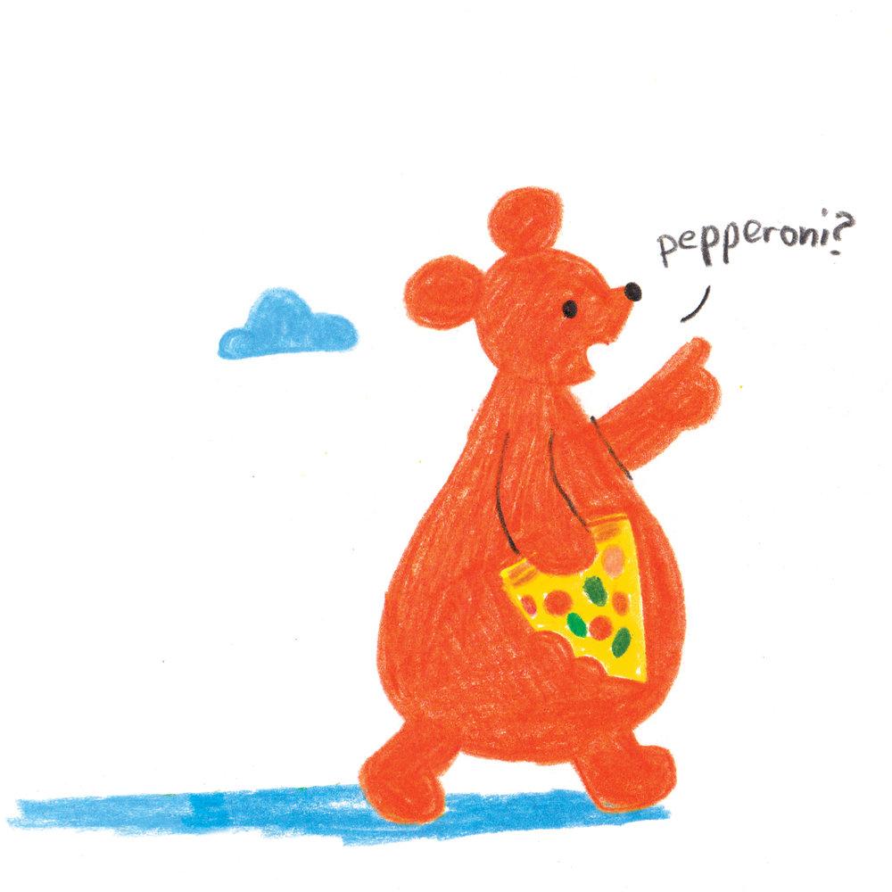 Pizza Bear -