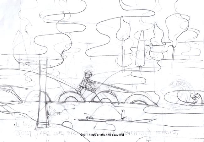 Pencil sketch 鉛筆稿