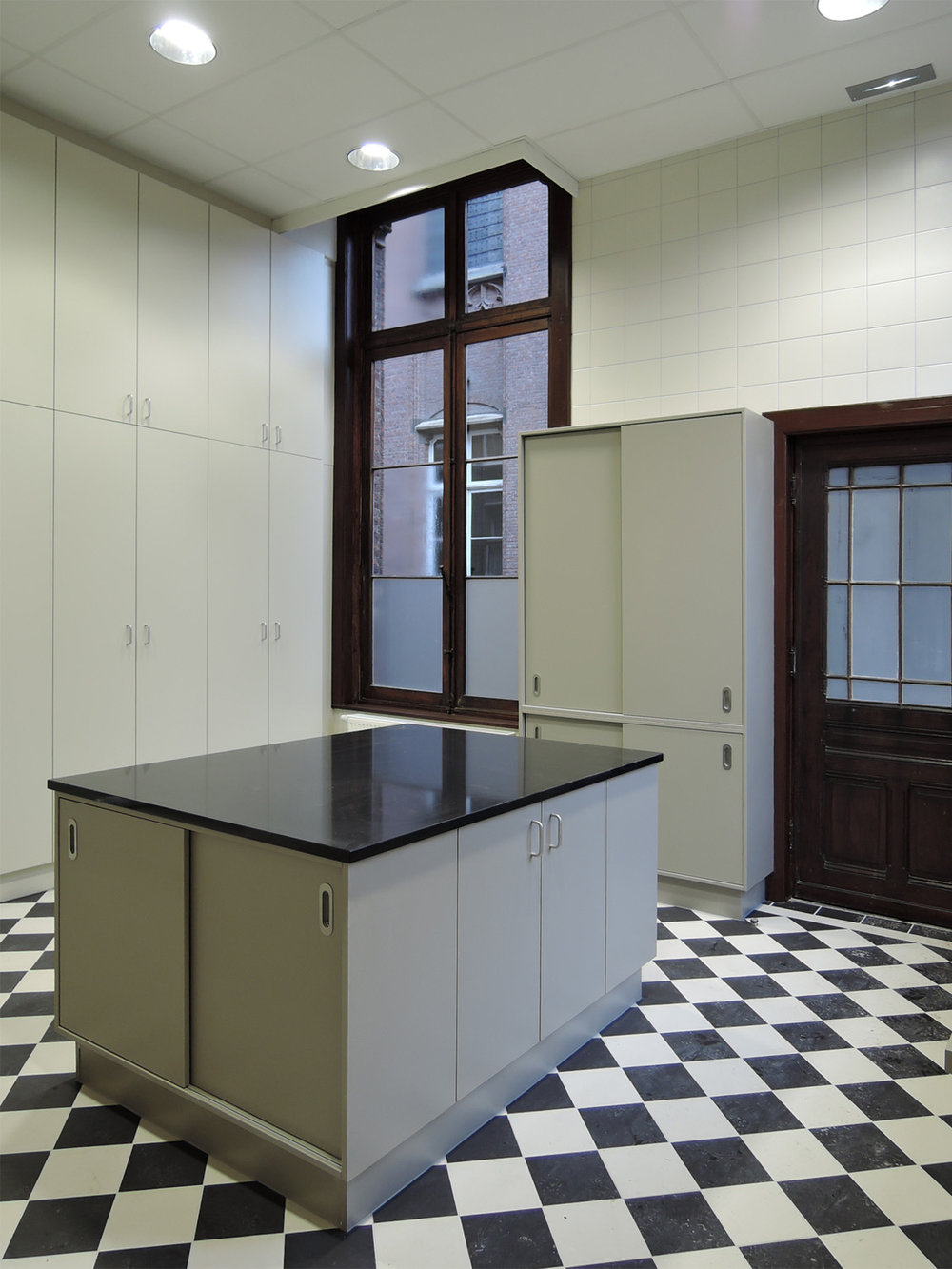 Sint-Lievenscollege, keuken - Antwerpen