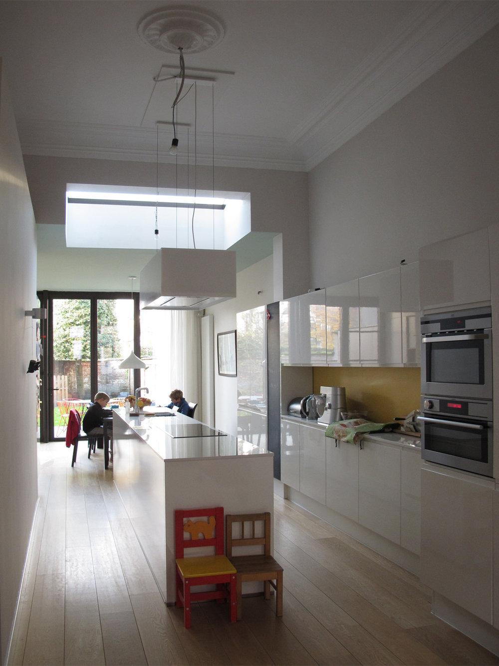 Verbouwing van een herenhuis - Antwerpen