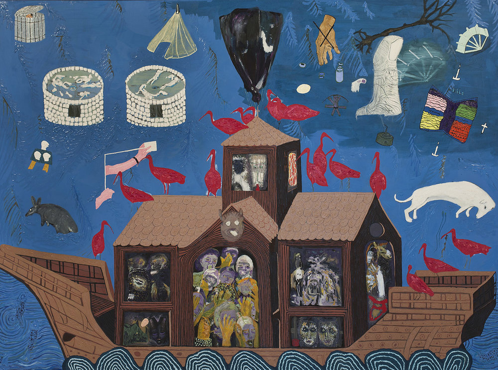MErchant Ark (2), 2013 - 2015, Oil on canvas, 170x230cm, R30,000_1500.jpg