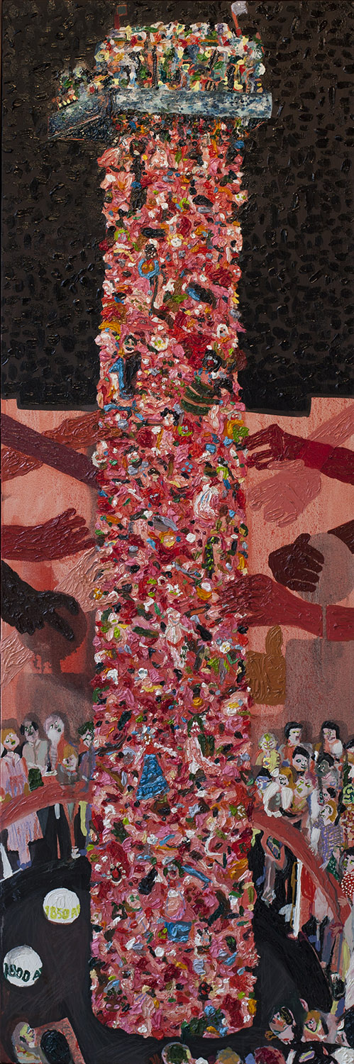 Totem for Sappho, 2014, Oil on canvas, 152cm x 51cm, R13,000_1500.jpg