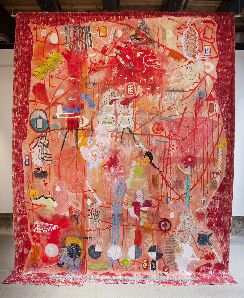 Skein (2), 2015, Oil on canvas, 350cm x 270cm, R39,000_1500.jpg