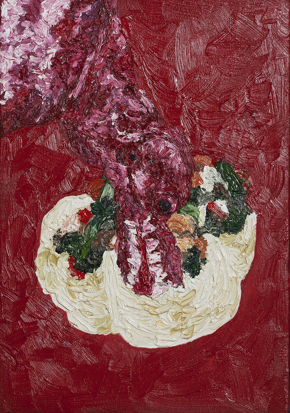 Dog Lettuce, 2014, Oil on canvas, 40x28cm, R5,000_1500.jpg