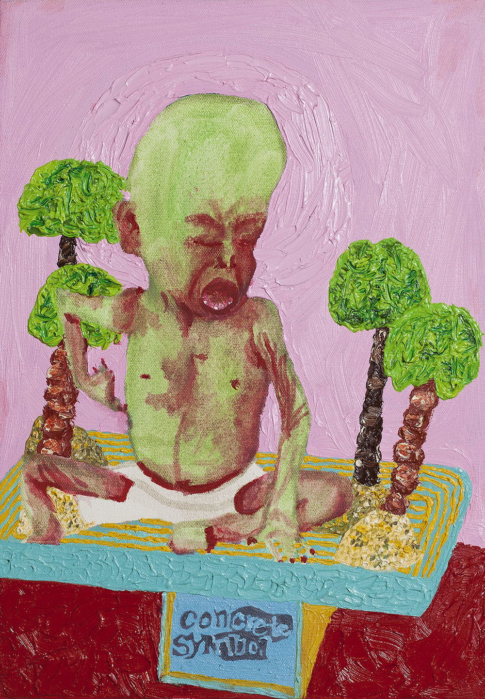 Concrete symbol, 2014, Oil on canvas, 40x28cm, R5,000_1500.jpg