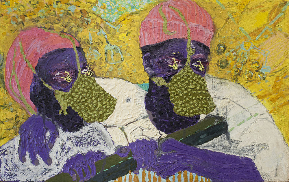 Watchers (2), 2015, Oil on canvas, 59.5cm x 30cm, R6,000_1500.jpeg