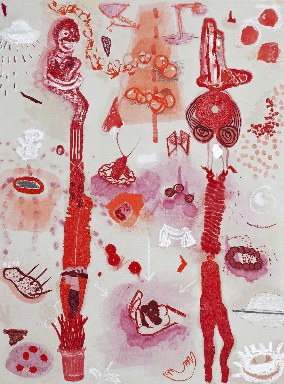 My Tootsi Sticks, Oil on paper, 76.2x56, R6000_1500.jpeg