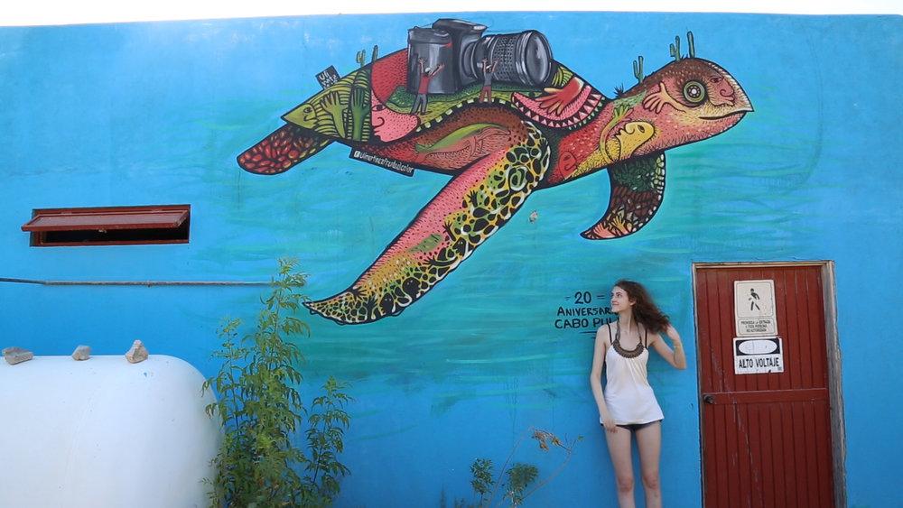 Julia in Cabo Pulmo