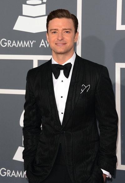 Justin Timberlake in Tom Ford suite