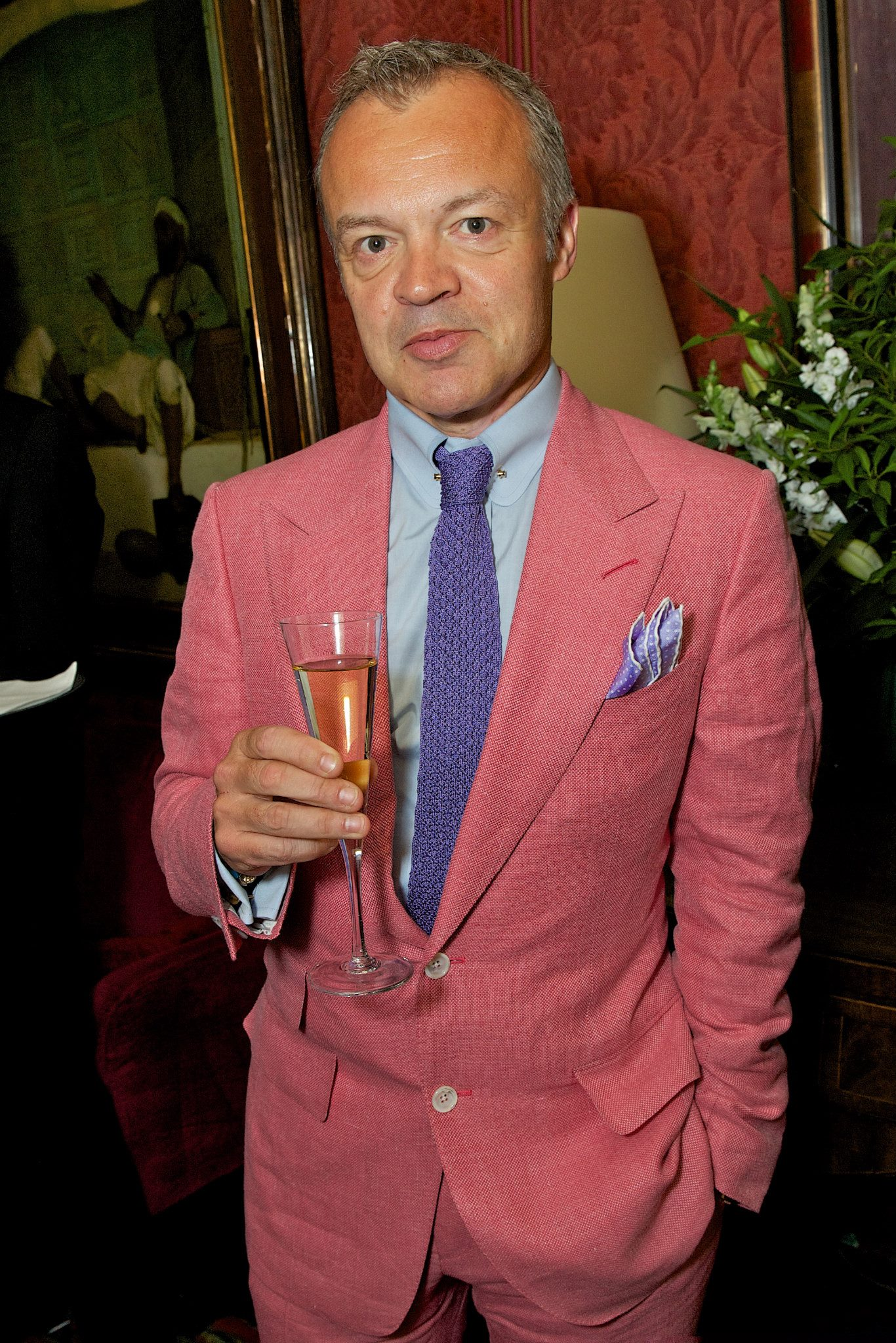 Graham Norton wears TOM FORD