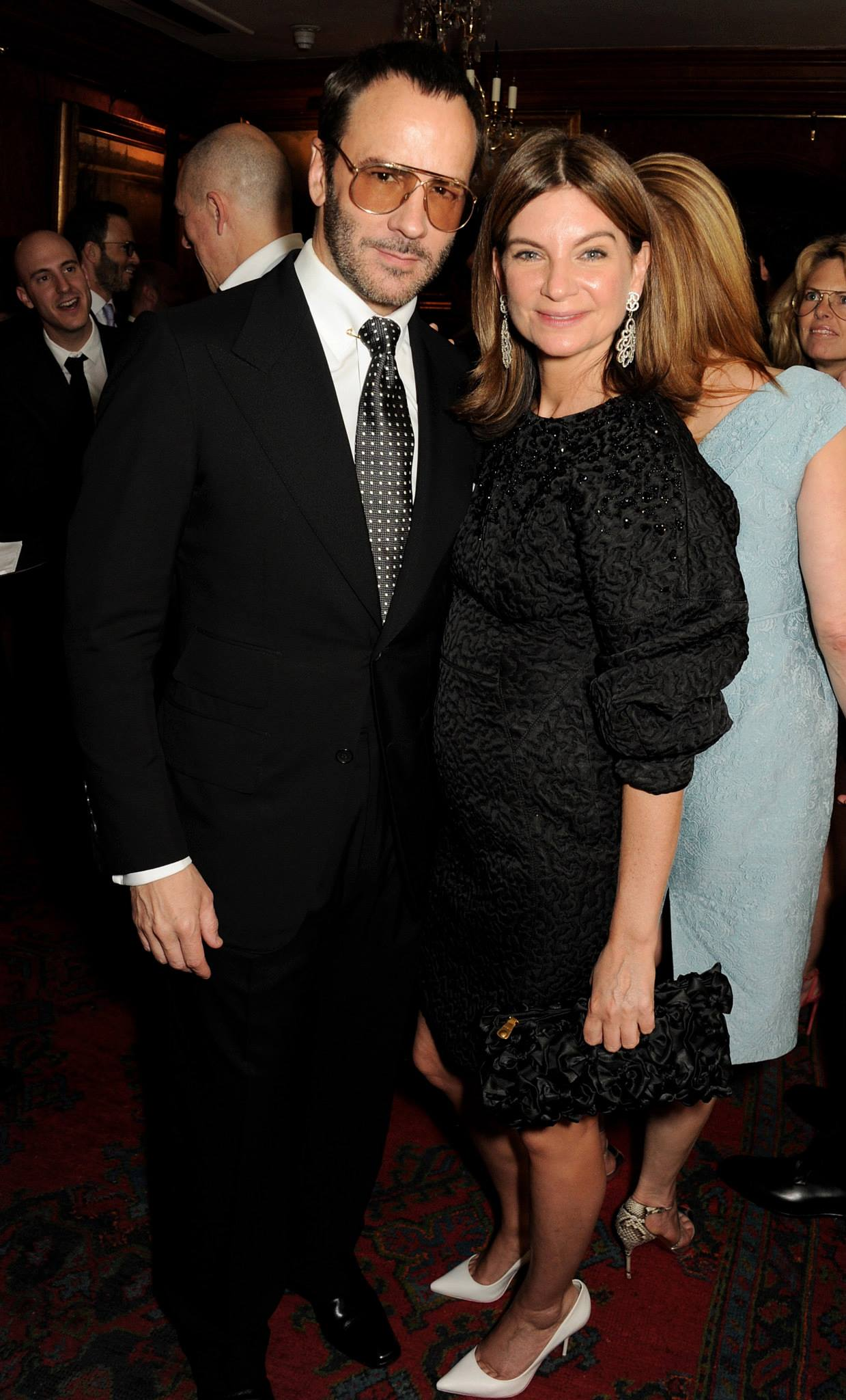 Tom Ford with Natalie Massenet