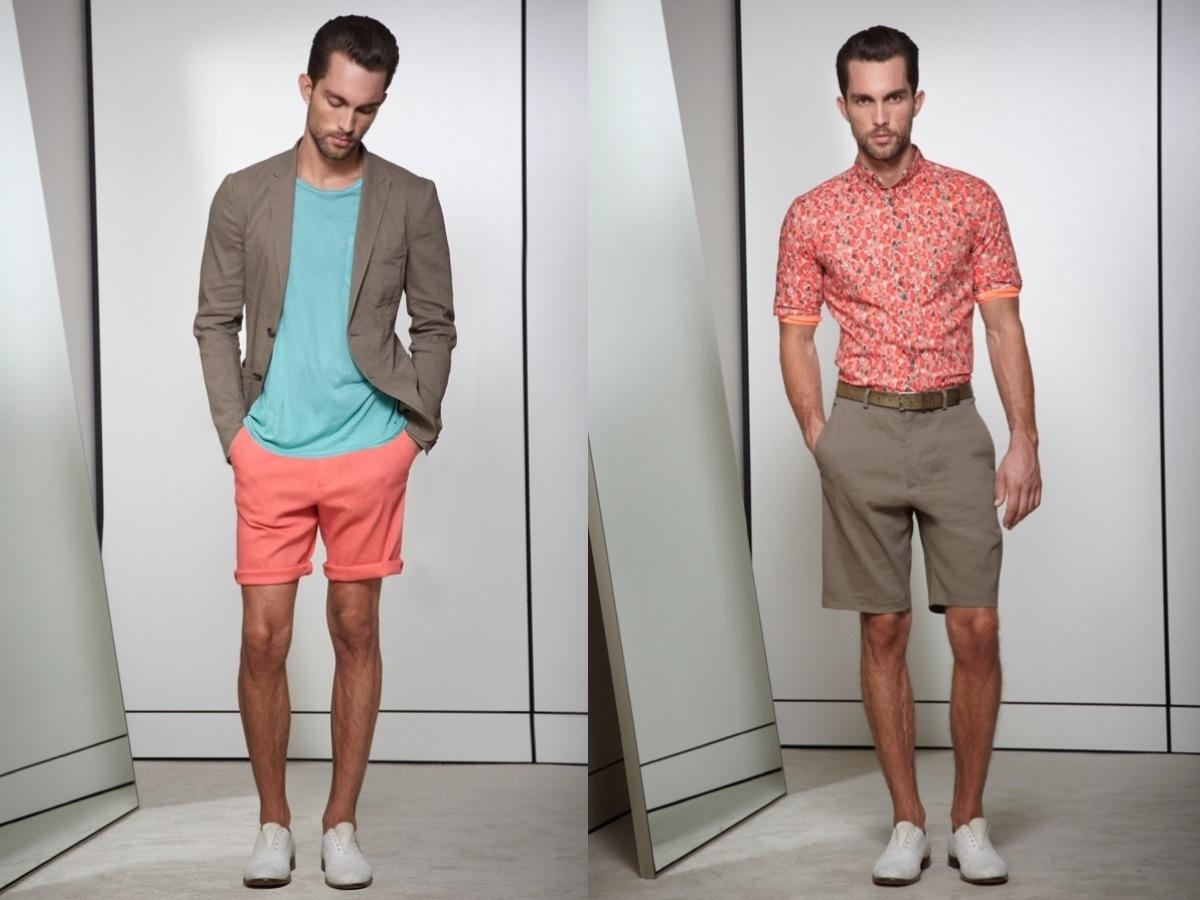 Elie Tahari Melon Modern Color Menswear SS2013