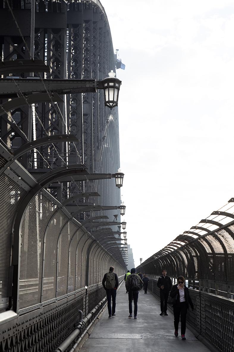 The Harbour Bridge Sydney