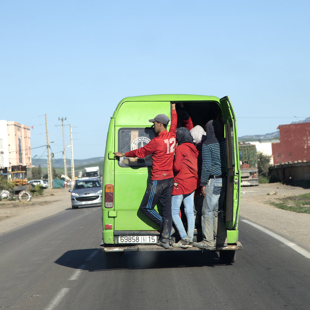 onderweg in Marokko