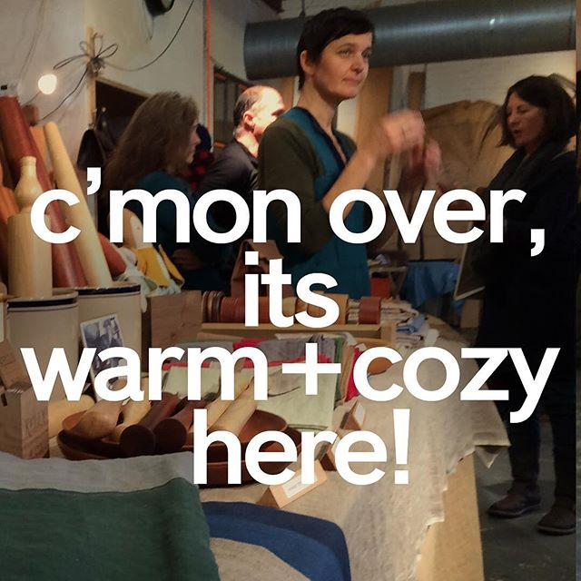 Open until five today! #workshopwintermarket #beaconny #holidaymarket #hudsonvalleymarket #holidaygifts #neighborhood #cozy
