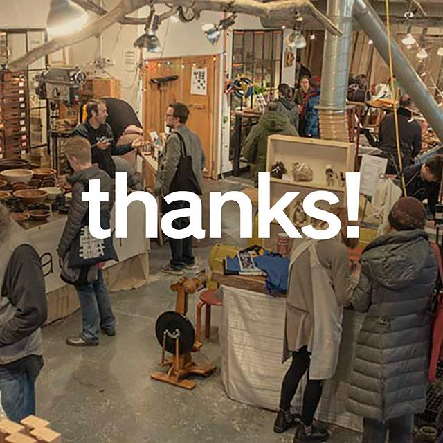 Thanks so much for coming out for work:shop 2018! Were so grateful for your support of regional artisans. Our raffle also raised $954 for Beacon Arts and Education Foundation this year! #thanks #merci #danke #gracias #workshopwintermarket #beaconny