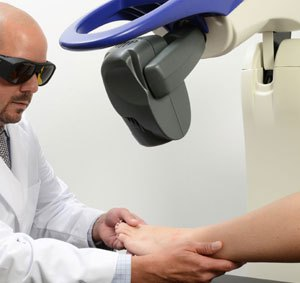 mls laser therapy for foot and heel pain