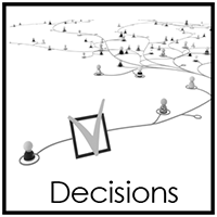 Decision Making Workshops (GPS) Decision Making workshops are designed to help teams, groups, and individuals identify cause and affect of their decisions as they correlate to end results. This helps new team members