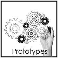 Prototype planning, requirements, and trips to Maker Labs to build the real thing.