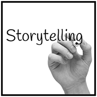 Write down stories of the past, present, and future then use images to turn them into books and performances.