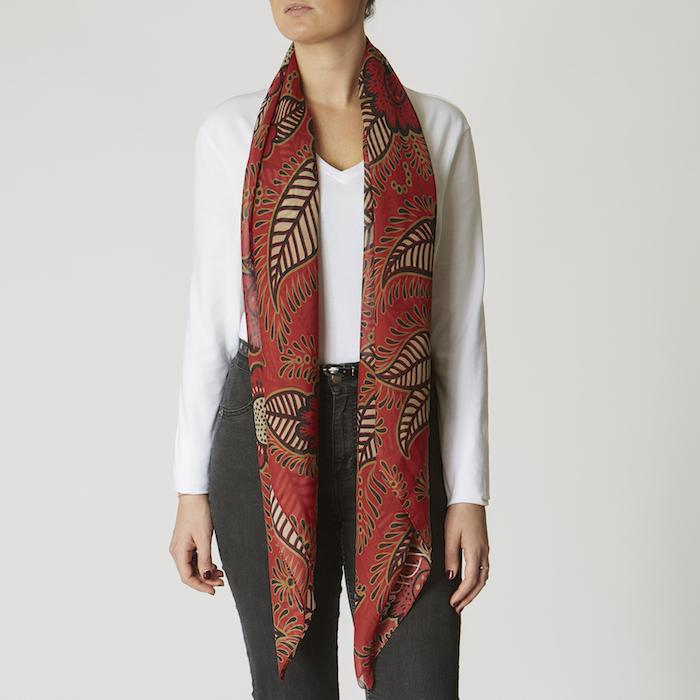 Large Silk Scarves -