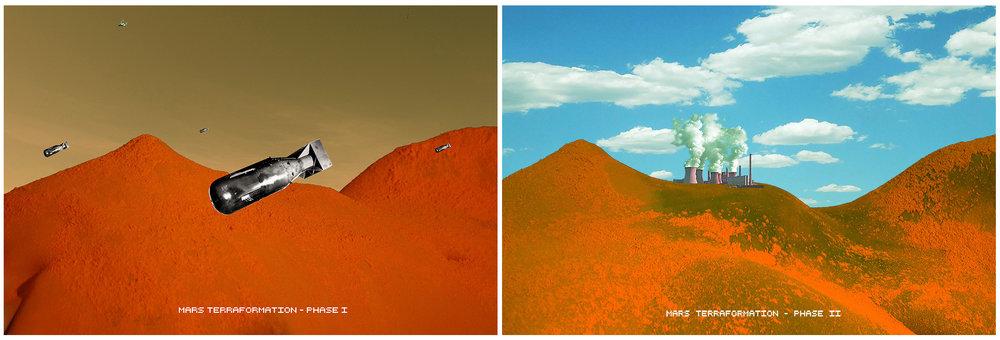 Mars Terraformation - Phase I & II