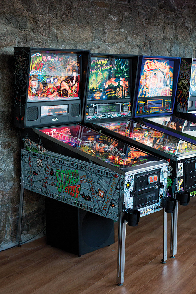 Flip Side in Westerly is a high scoring combination of classic pinball and local brews  PHOTO BY KENDALL PAVAN ST. LAURENT