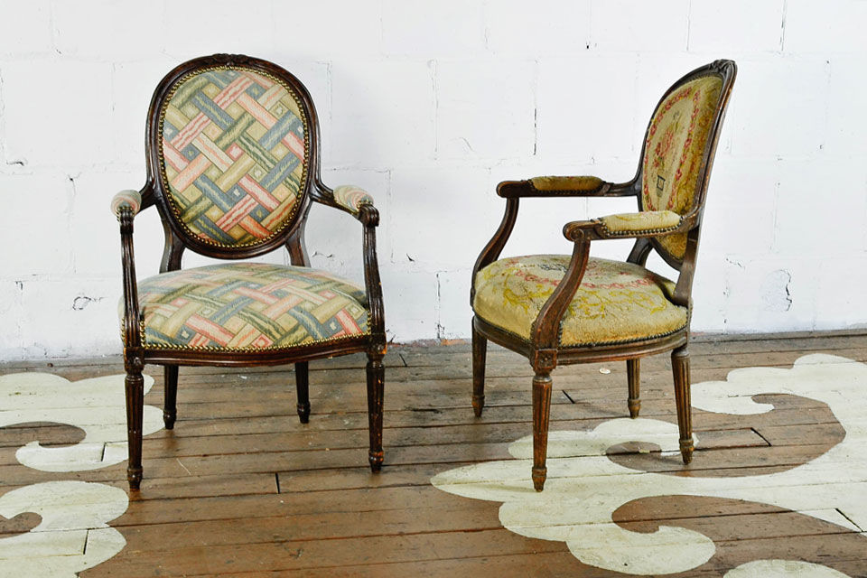 Antique Armchairs - Antique Armchairs — Chairloom