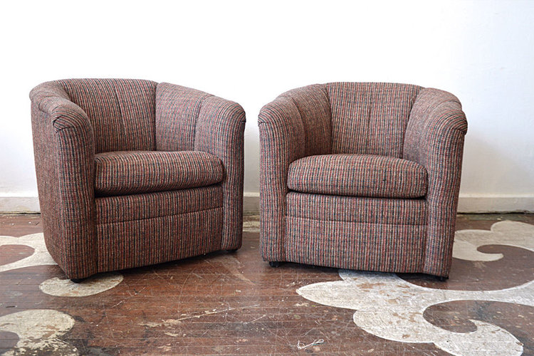 Vintage Tub Chairs - Armchairs — Chairloom