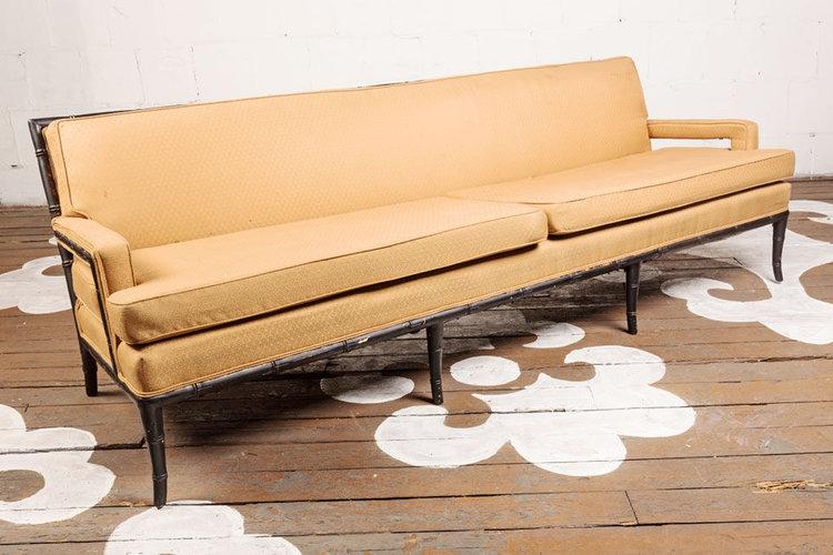 Faux Bamboo Sofa Chairloom