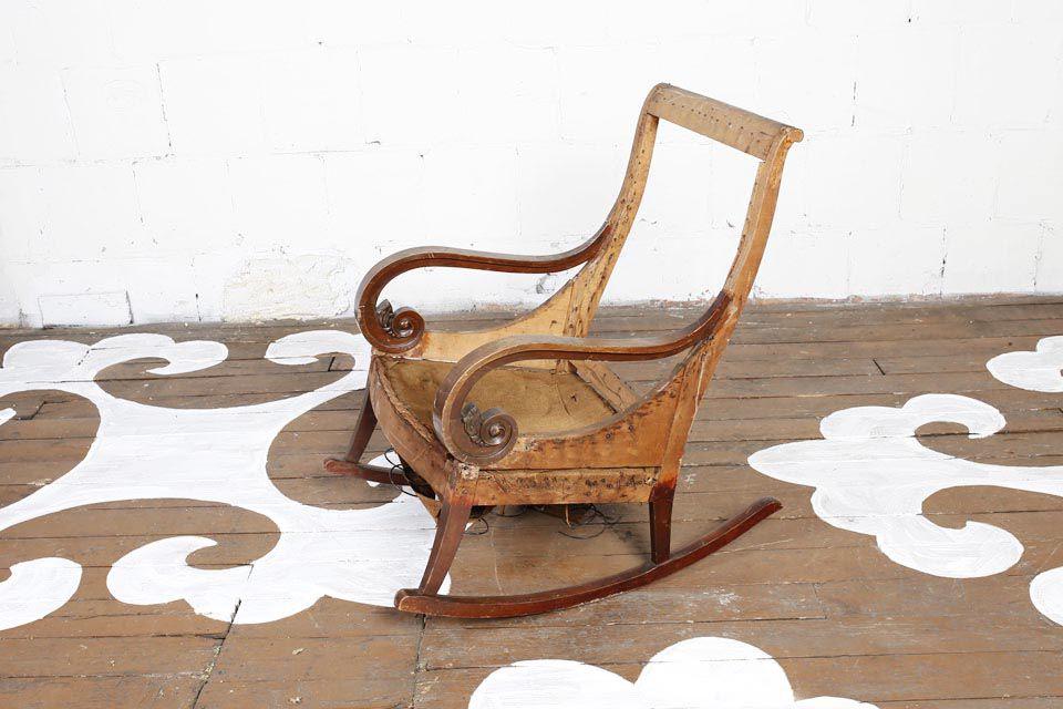 Antique Rocking Chair - Antique Rocking Chair — Chairloom