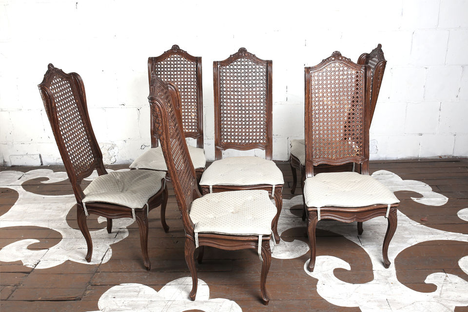 Caned U0026 Winged Dining Chairs
