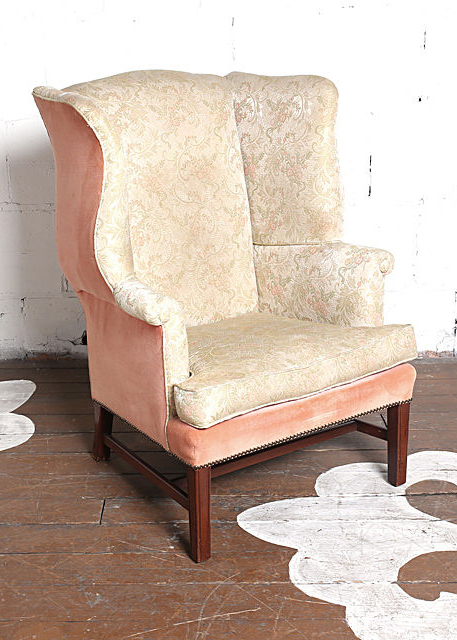 Antique Wingback Chair - Antique Wingback Chair — Chairloom