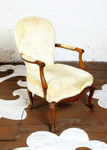 Antique Accent Chair - Antique Accent Chair — Chairloom