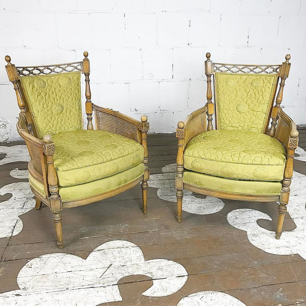 Lovely Vintage Armchairs