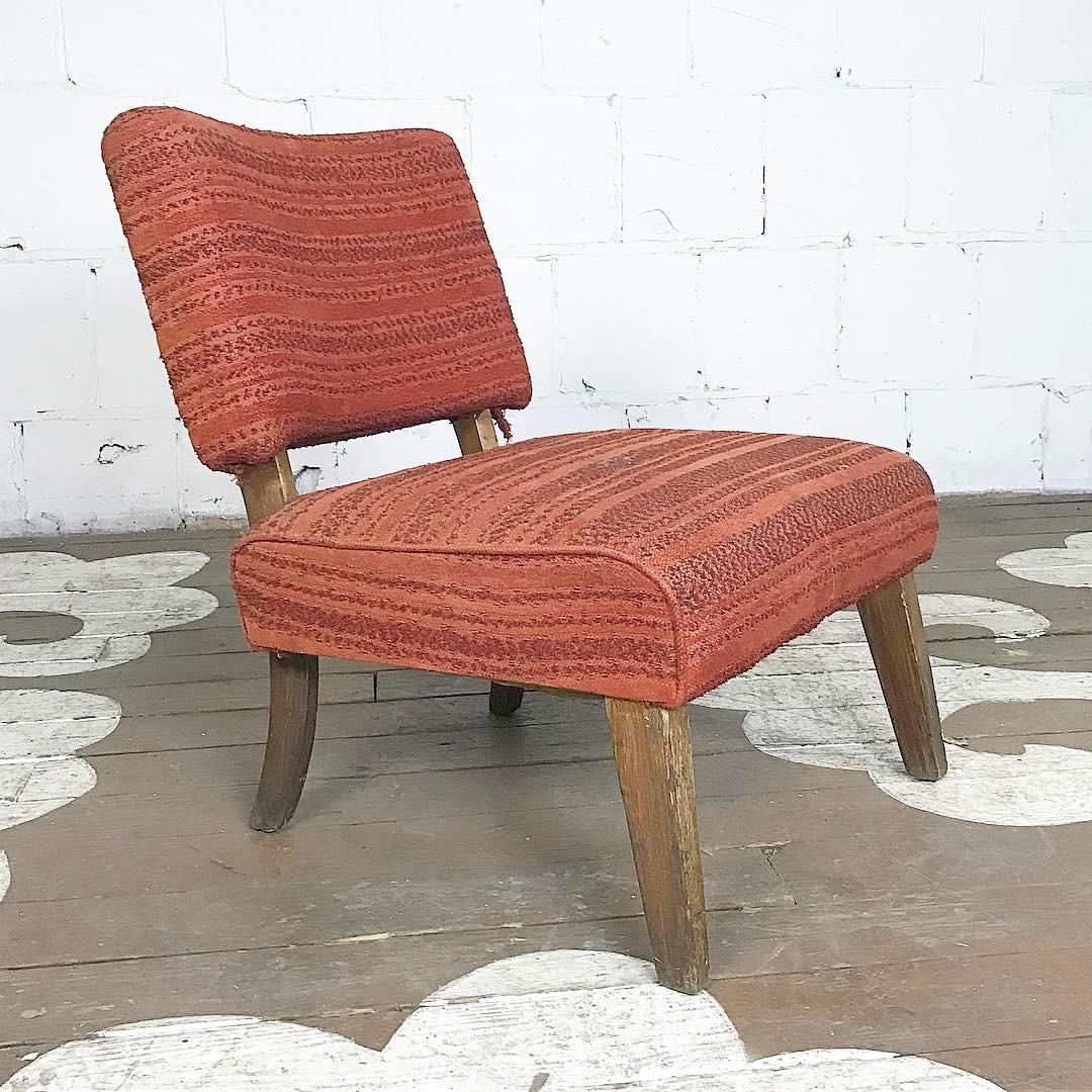 Mid Century Slipper Chair  17332615_1651010575204198_2316948184028413952_n
