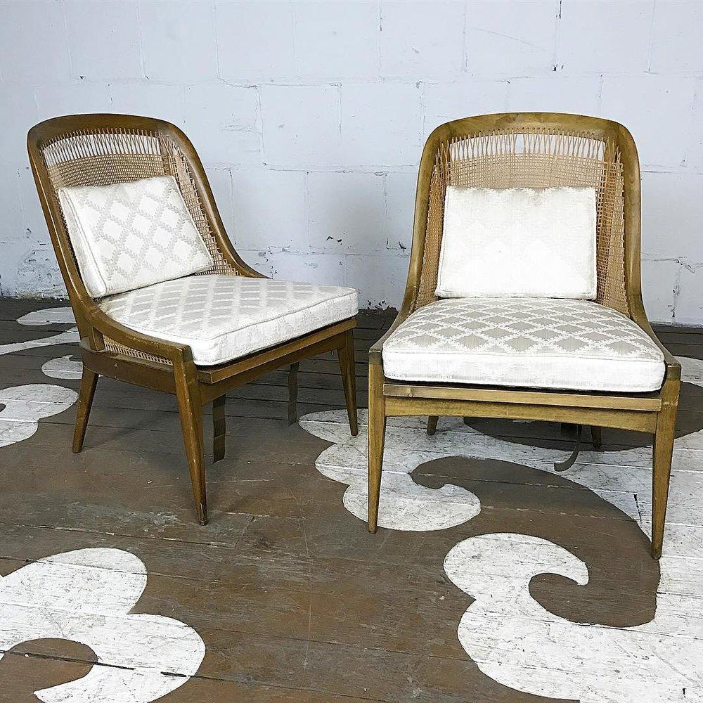 Harvey Probber Slipper Chairs