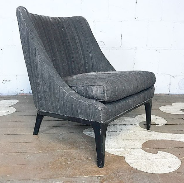 Delicieux Mid Century Modern Slipper Chair